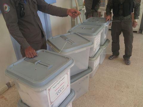 SYRIA PREFILLED BALLOT BOXES