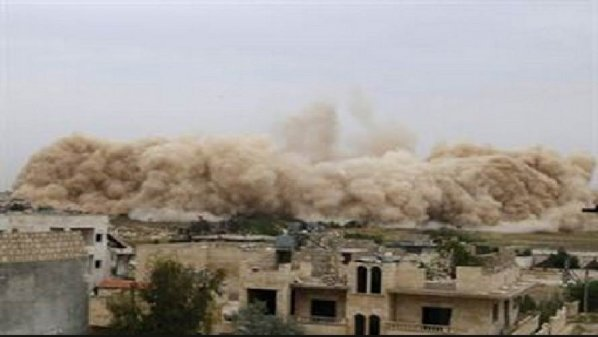 EXPLOSION DAMASCUS SHABIHA HQ