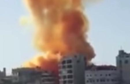 LATAKIA BUILDING EXPLOSION