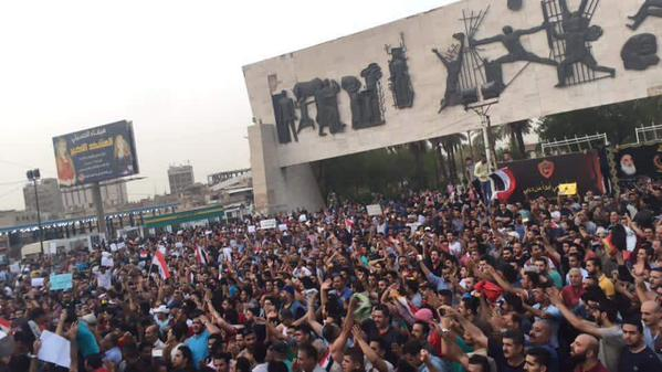 BAGHDAD PROTESTS 07-15 2