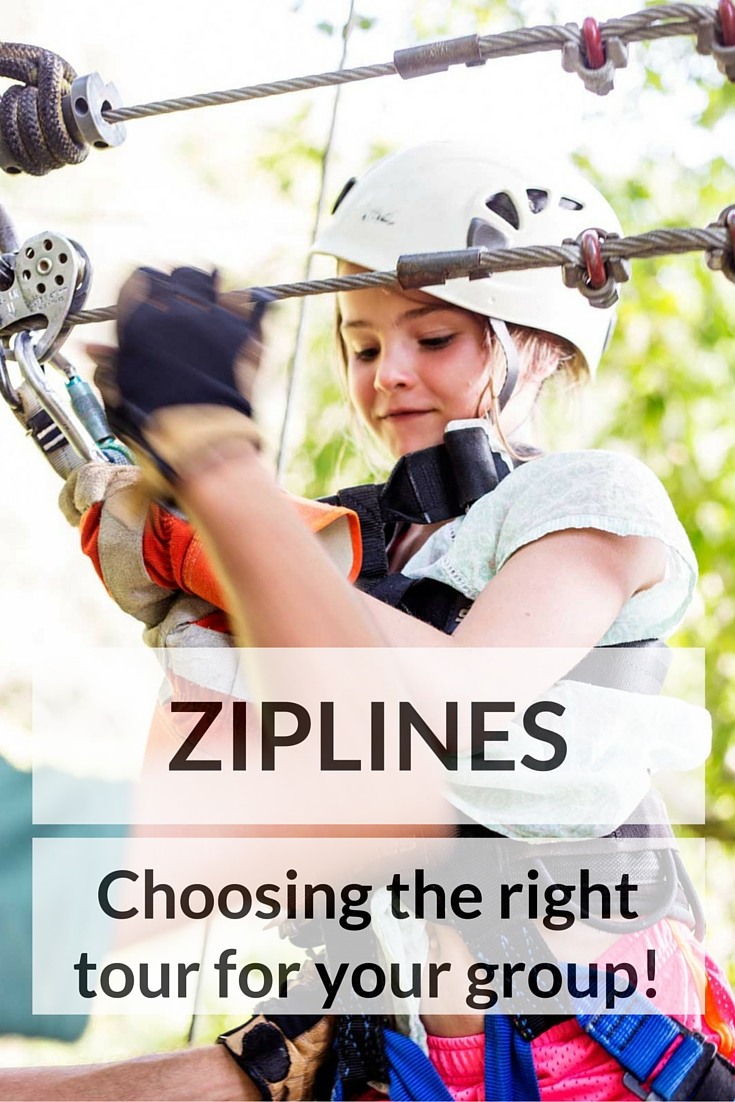 Ziplines, how to choose the best lines, and adventure for your group