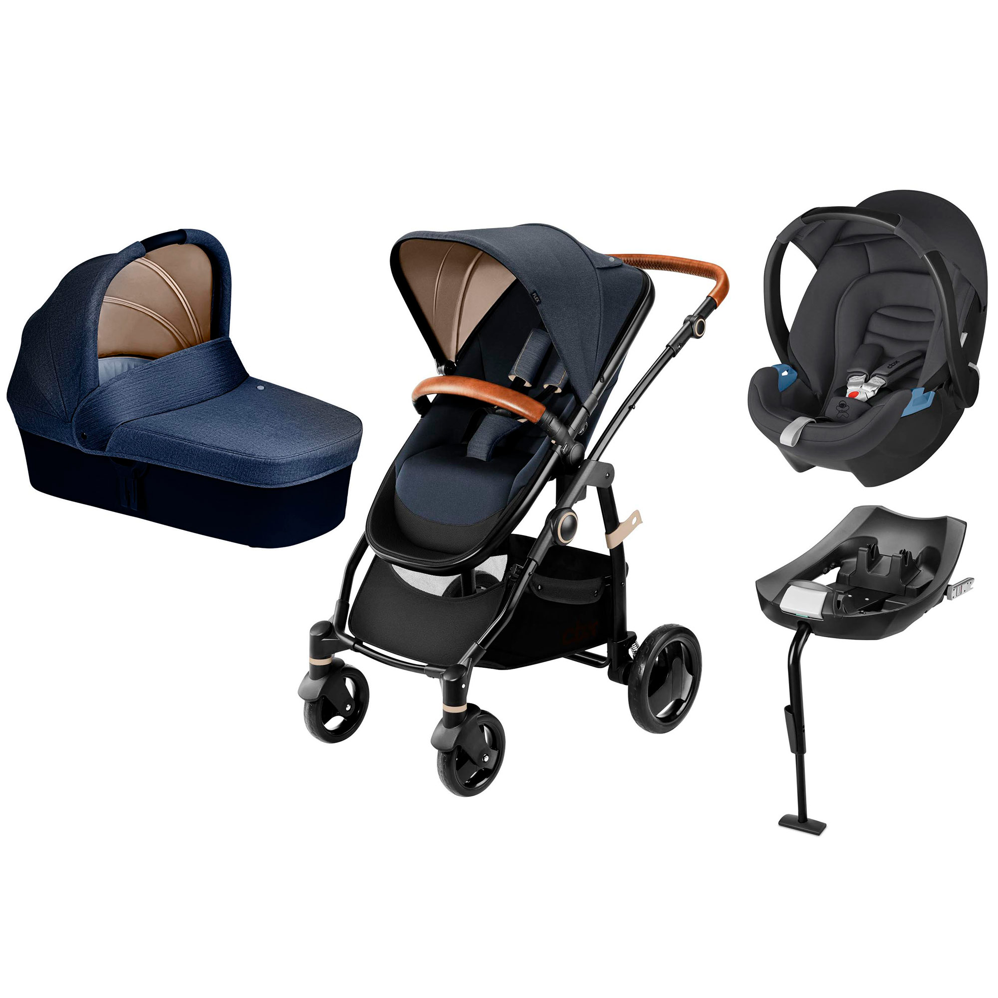 Stroller Travel System Ebay Details About Cbx Leotie Lux Stroller Aton Infant Carrier And Isofix Base Travel System