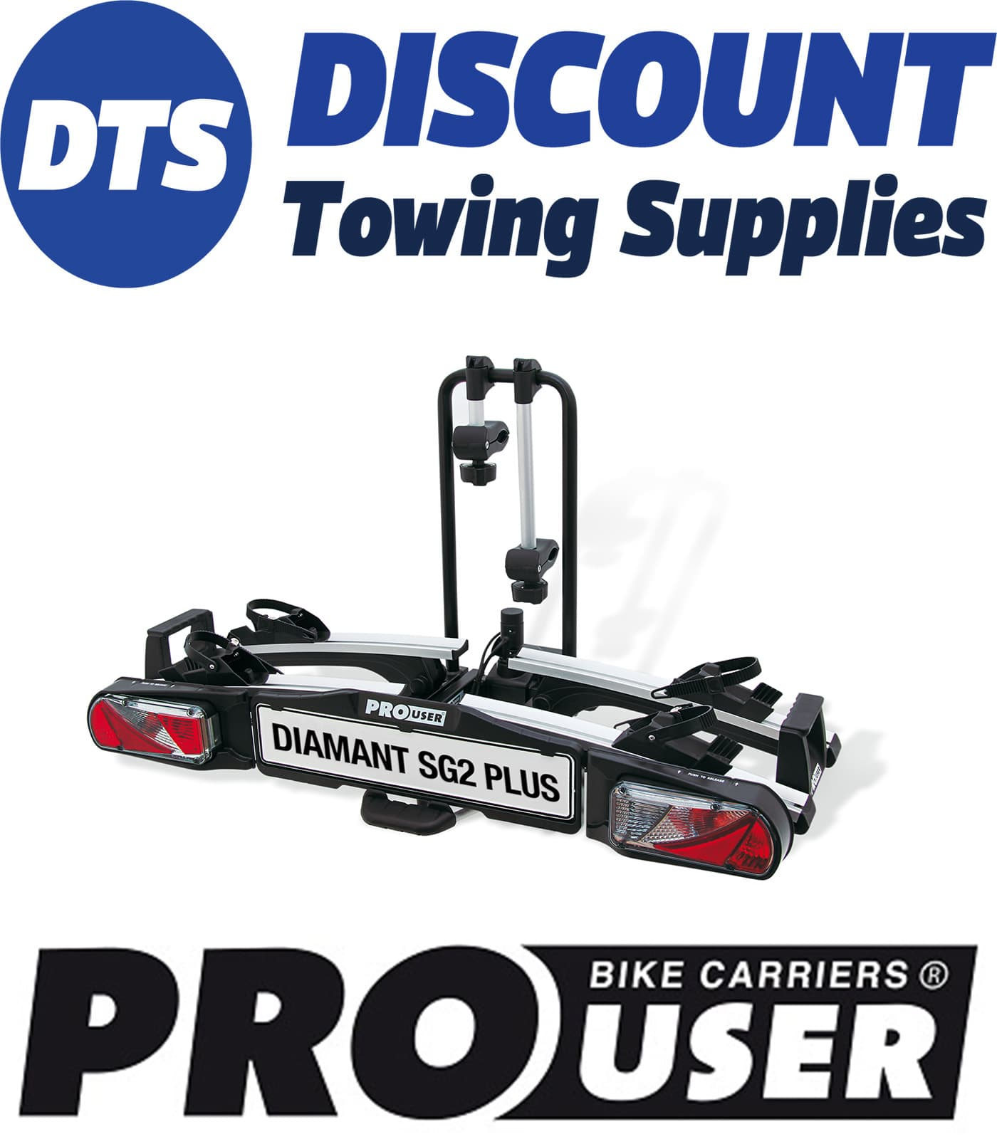 Pro User Details About Pro User Diamant Sg2 Plus 2 Bike Towball Mounted Cycle Carrier