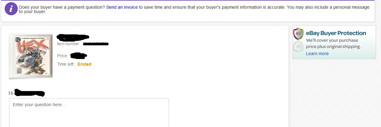 ebay doesnu0027t allow sellers to send invoices anymor - The eBay - how to send an invoice