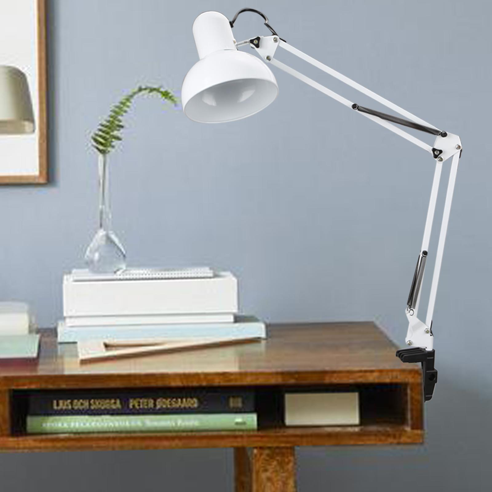 Architect Desk Lamps Modern Architect Style Swing Arm Clamp Mount Table Desk