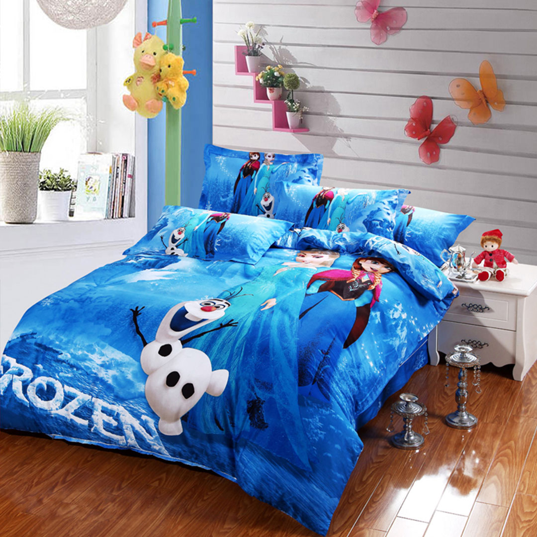 Boys Double Quilt Cover Disney Frozen Bedding Set 100 Cotton Buy Disney Frozen Bedding Ebeddingsets