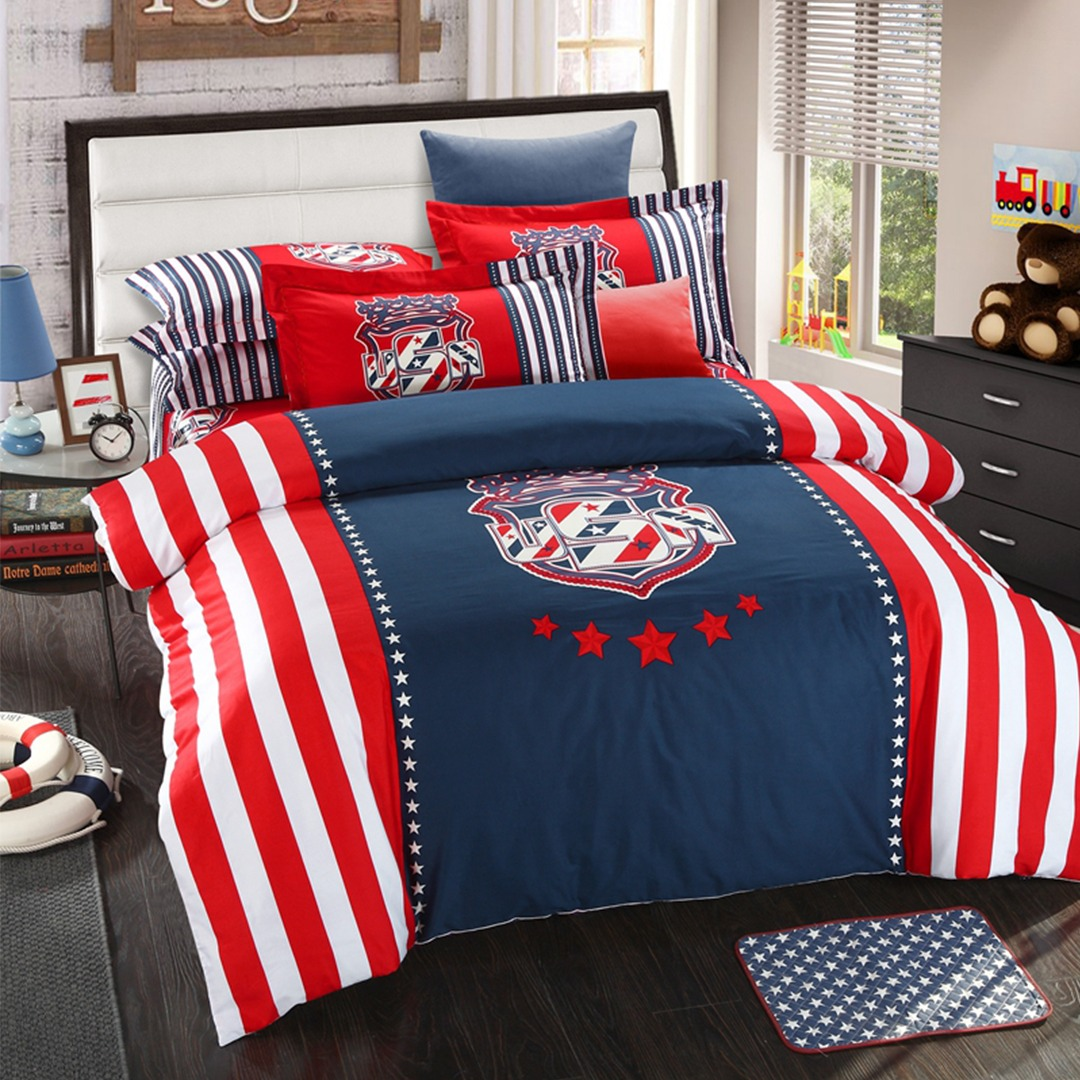 Queen Bed Set American Flag Bedding Set Queen Size Ebeddingsets