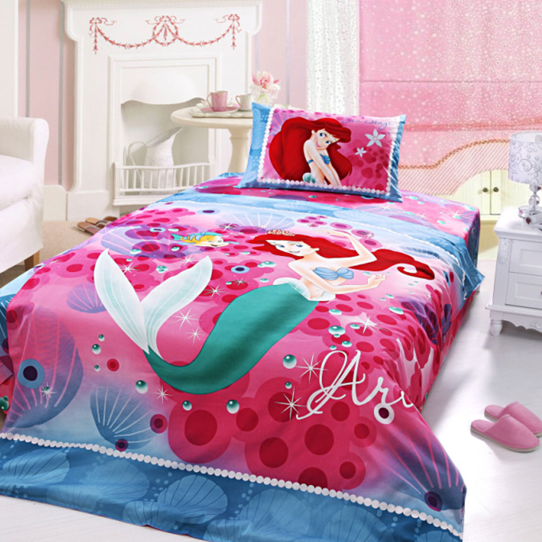 Girls Bedding Ariel Princess Bedding Set Twin Size Ebeddingsets