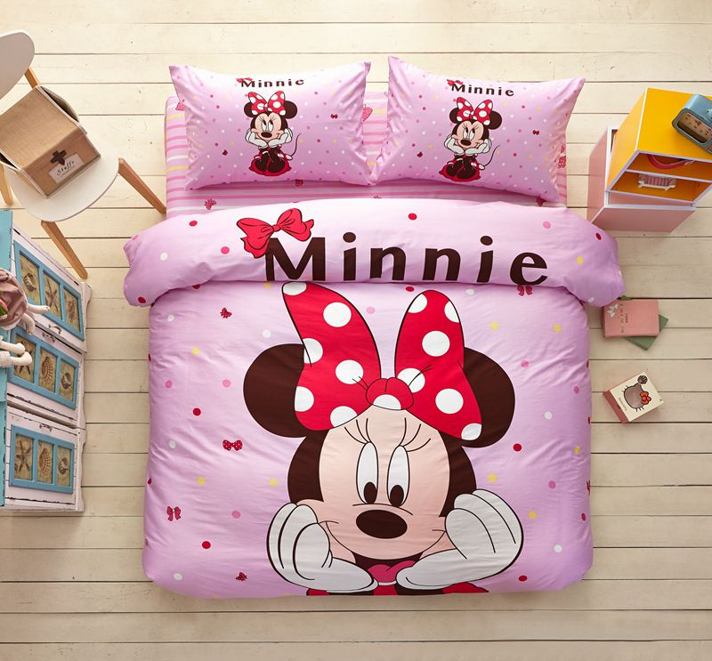 Sofa Cushions Are Flat Minnie Mouse Pink Bedding Set Twin Queen Size | Ebeddingsets