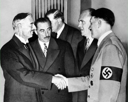 Chamberlain-and-Hitler