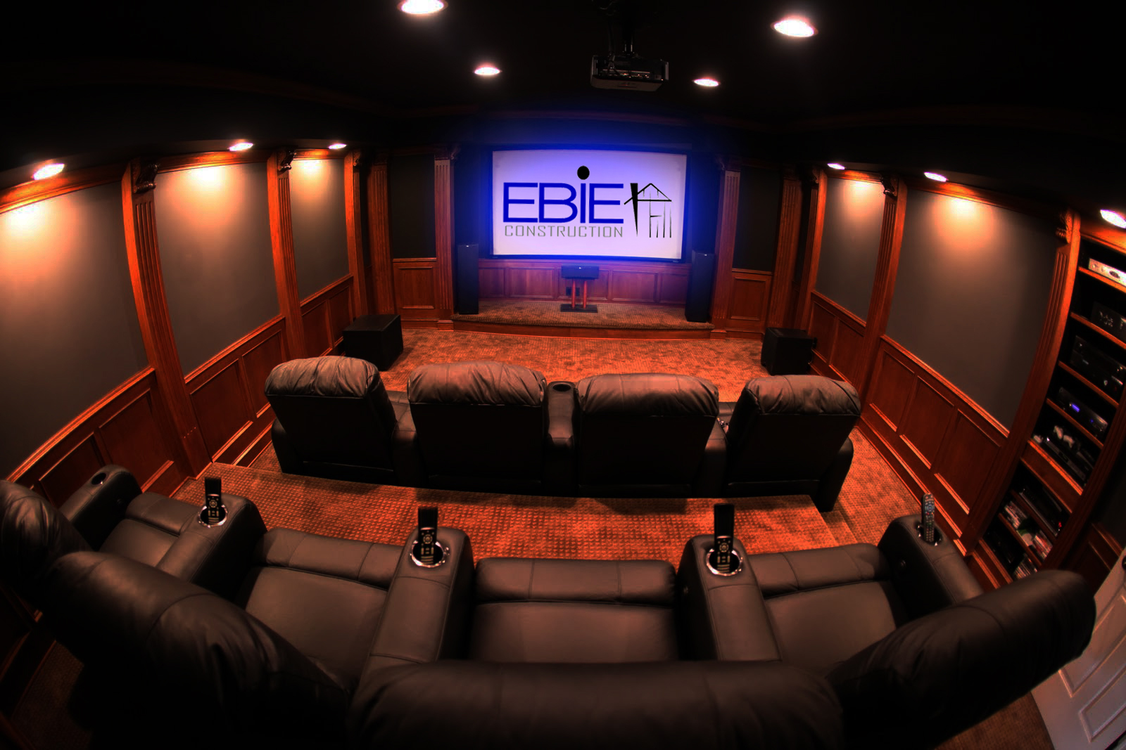 Home Theater Room Theater Rooms Ebie Construction