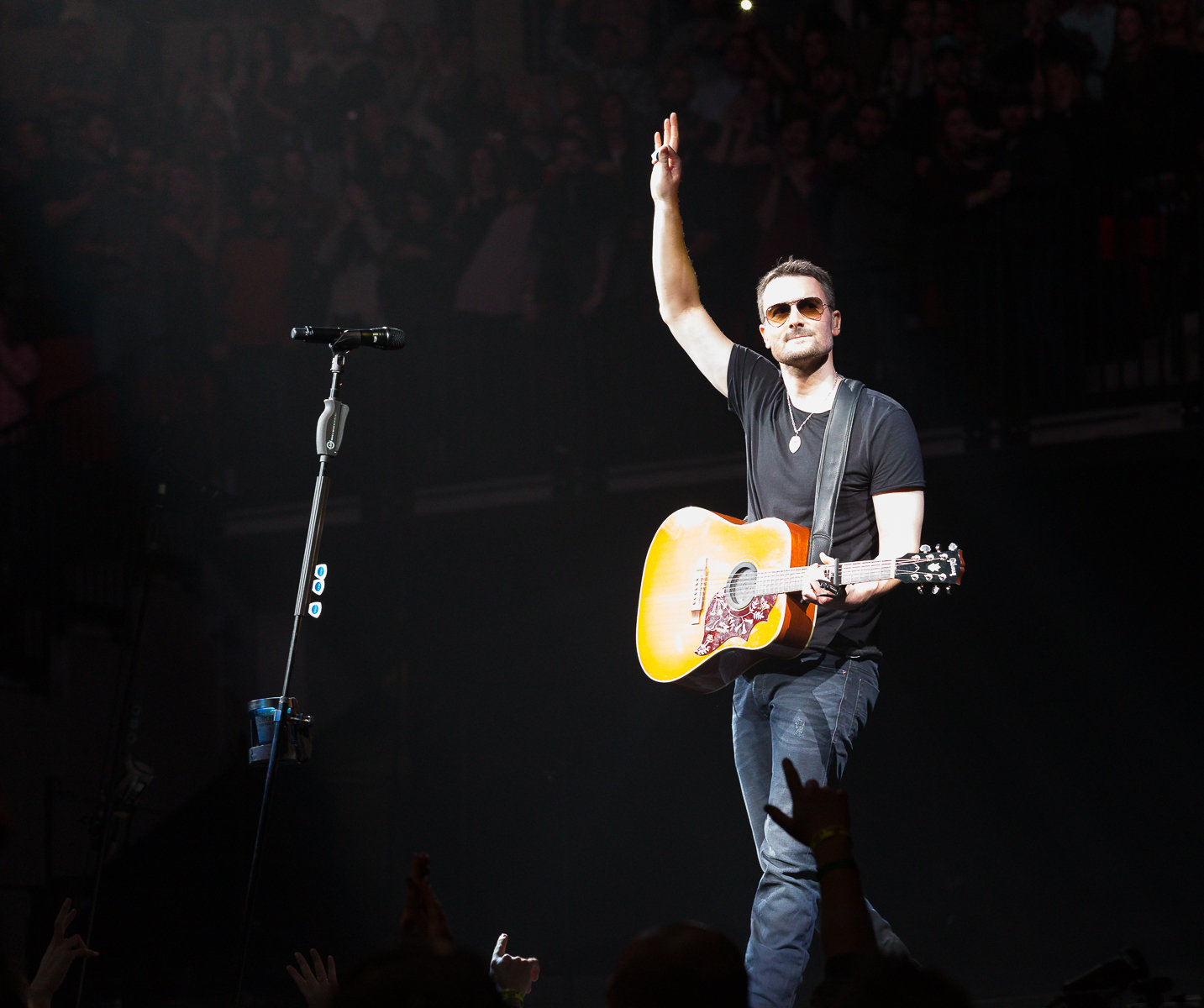 37 Tour Eric Church Opening Night 37 Song Setlist Holdin My Own Tour