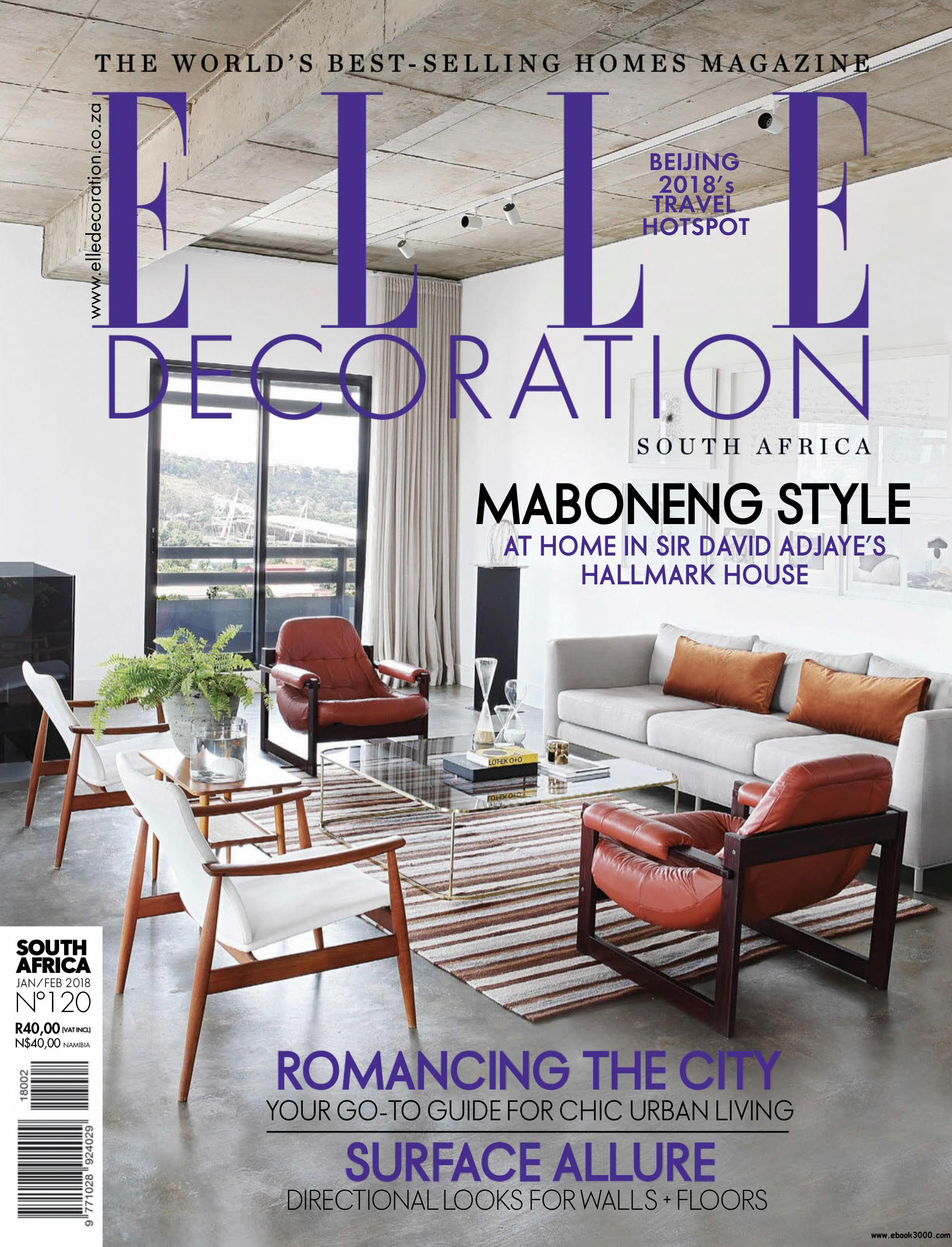 Decoration Elle Elle Decoration South Africa January 2018 Free Ebooks