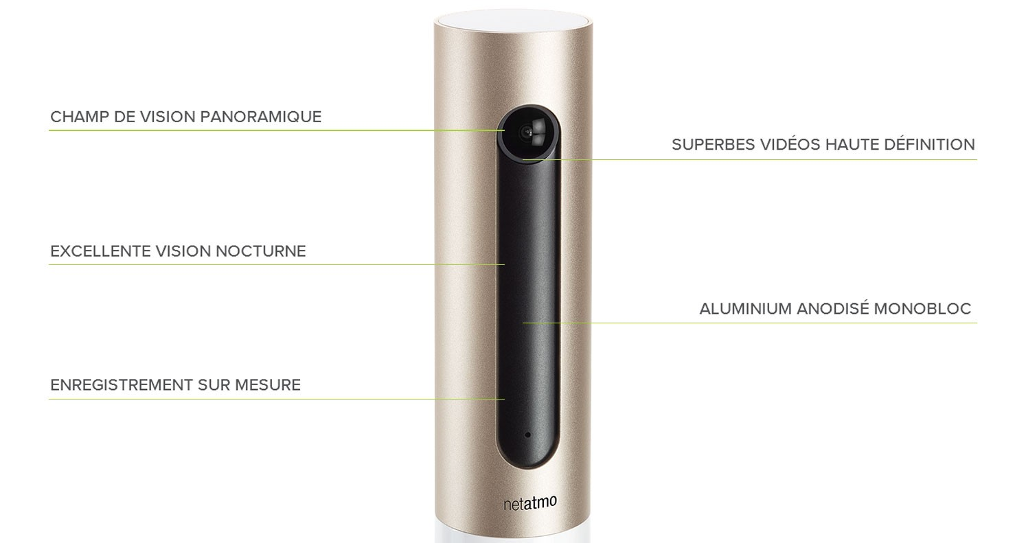 Netatmo Camera Exterieur Netatmo Welcome