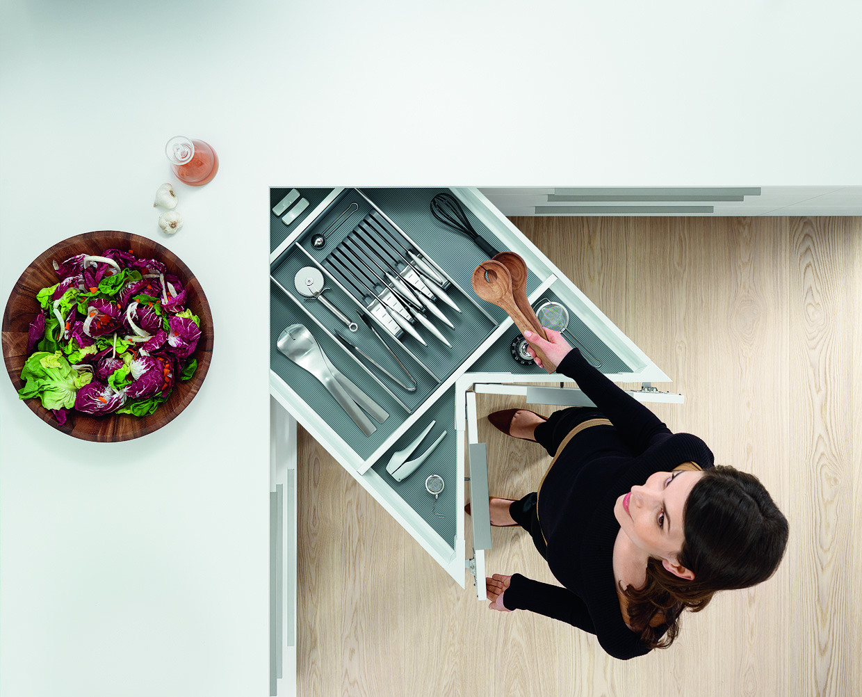 Miniküchen Mit System Blum Offer Handy Solutions For Kitchen Storage