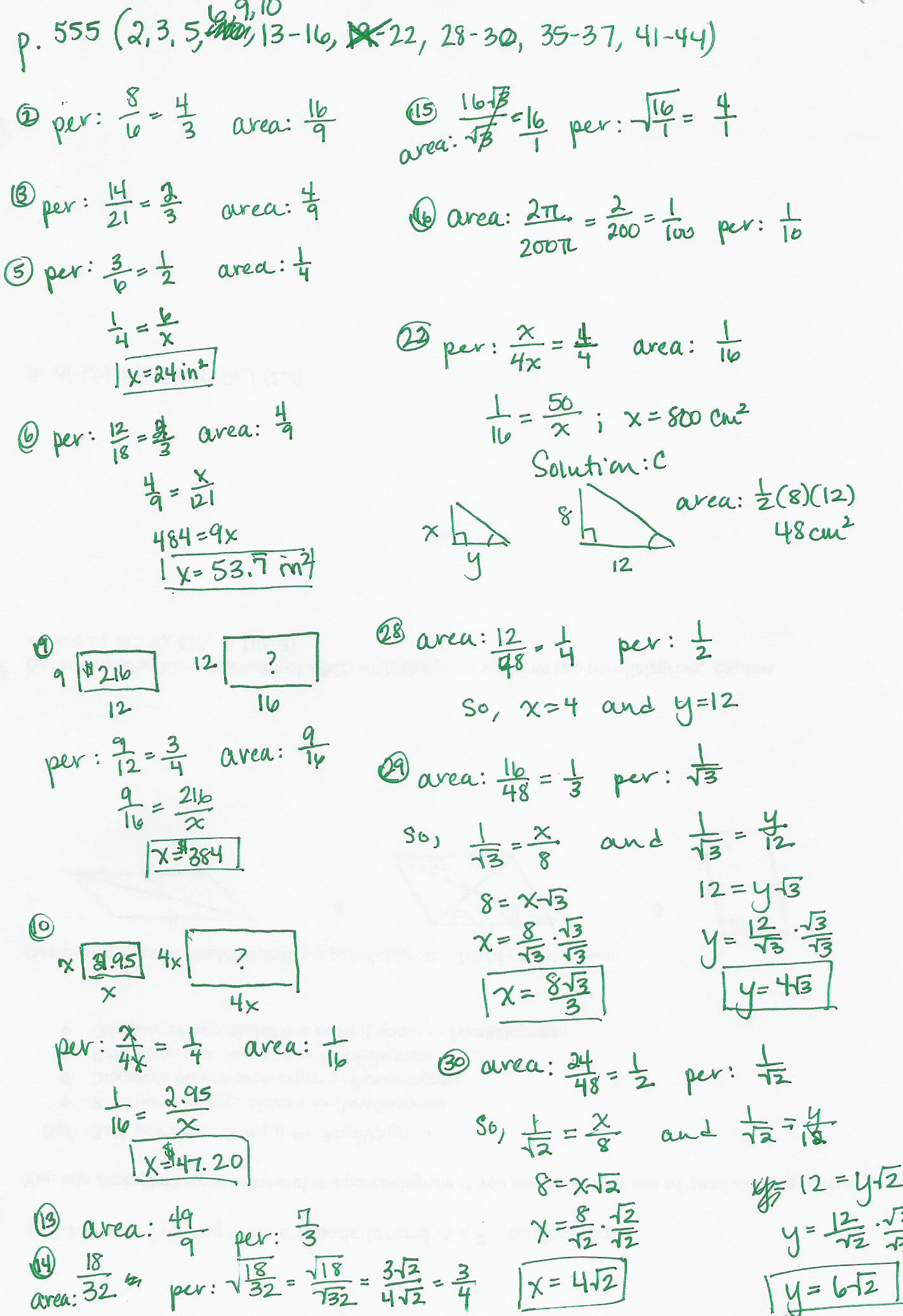Pe Rs Educ Ti Geometry W Ksheet Nswers Free W Ksheets