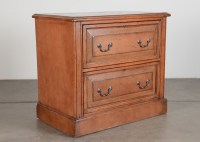Distressed Style Wood Lateral File Cabinet : EBTH