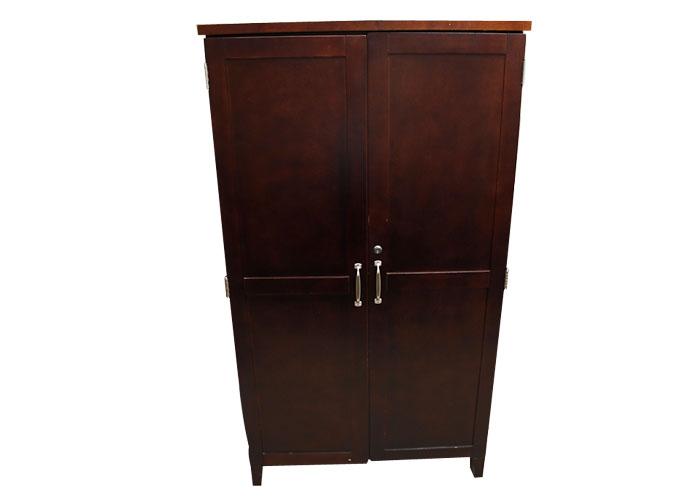 Lexington Rta Furniture Mahogany Tone Media Cabinet Ebth