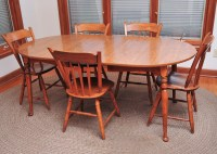 Ethan Allen Laminate Kitchen Table and Chairs : EBTH