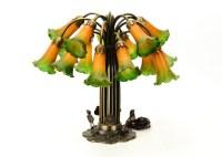 Tiffany Style Lily Lamp : EBTH