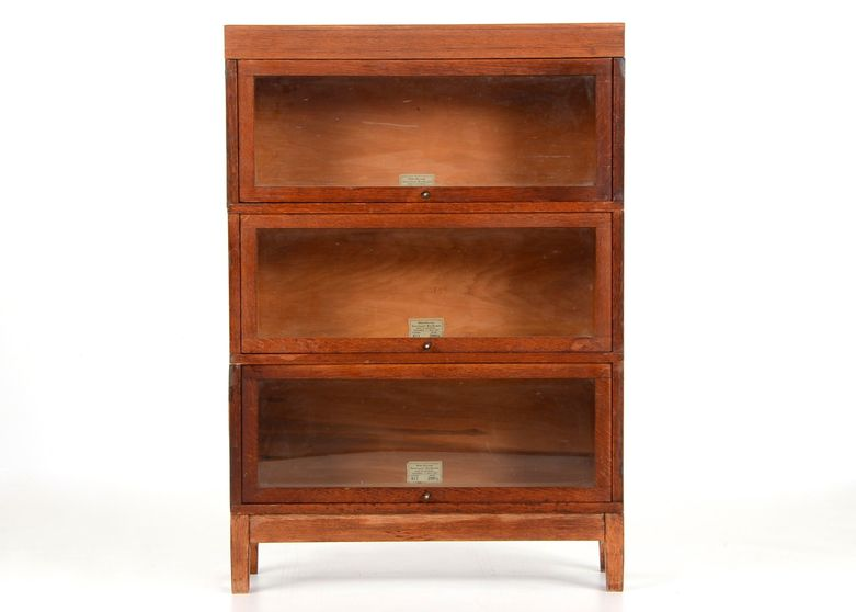 Globe Wernicke Three Part Barrister Bookcase Ebth