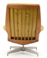Mid-Century Modern Heywood Wakefield Teak Side Chair and ...