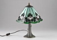 Small Tiffa-Mini Tiffany Style Desk Lamp : EBTH