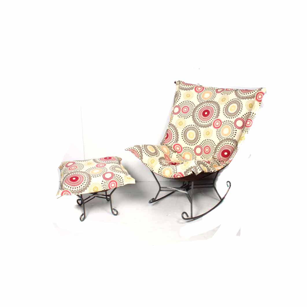 Butterfly Chair And Ottoman Rocking Butterfly Chair And Ottoman Ebth