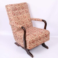 Antique Upholstered Rocking Chairs | Antique Furniture