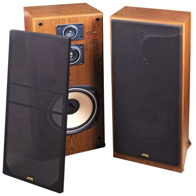 Pair Of Kenwood Lsk 4000 Floor Speakers Ebth