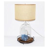 Nautical Theme Glass Table Lamp : EBTH