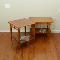 Lane Mid Century Modern End Tables : EBTH