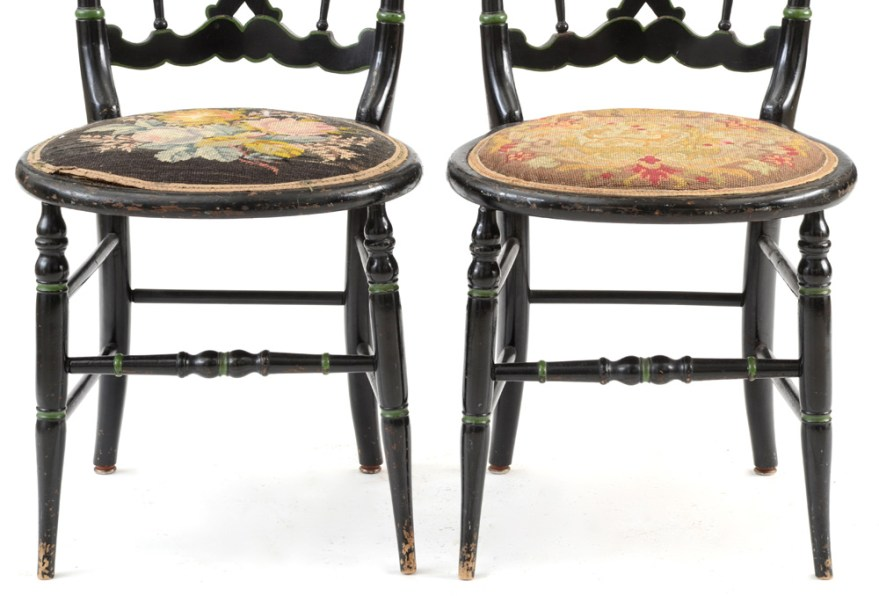 Mid To Late 19th Century Victorian Ballroom Side Chairs Ebth