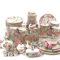 "Enormous Franciscan ""Desert Rose"" Dinnerware Collection : EBTH"
