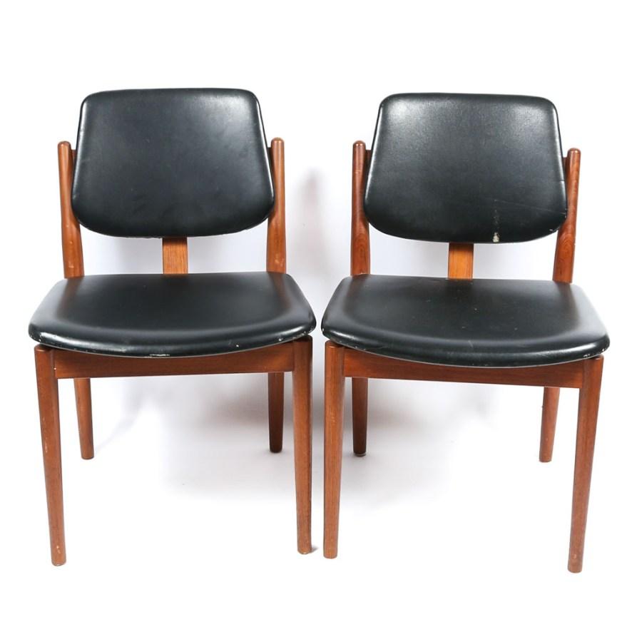 Vintage Danish Modern Chairs By Sibast Ebth