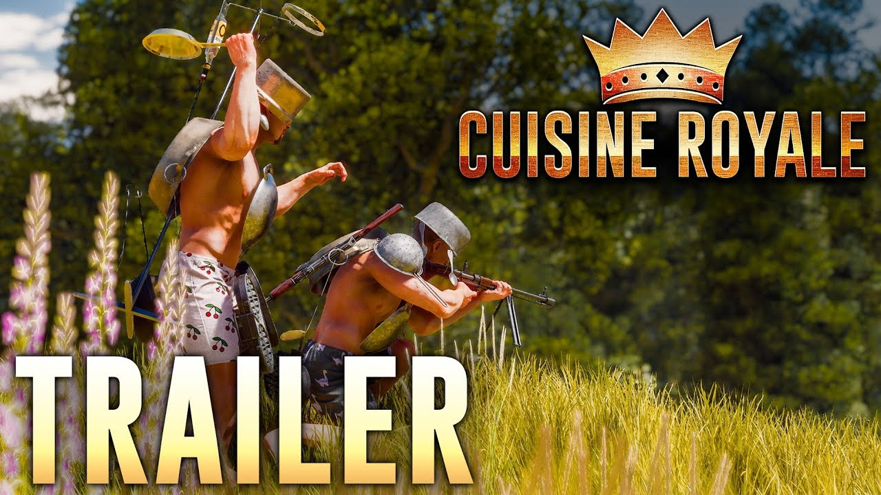 Cuisine Royale Guide Cuisine Royale Lets You Go To War With A Colander On Your Head And