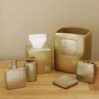 Croscill Mineral Champagne 6-piece Bathroom Accessory Set ...