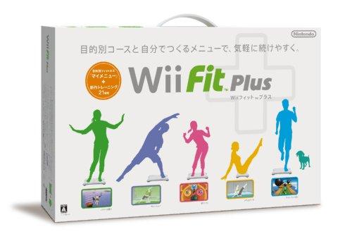 Wiiフィット プラス (バランスWiiボードセット) (シロ) / 任天堂