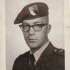 Lt. Jerry Kight, U.S. Army, 1966.