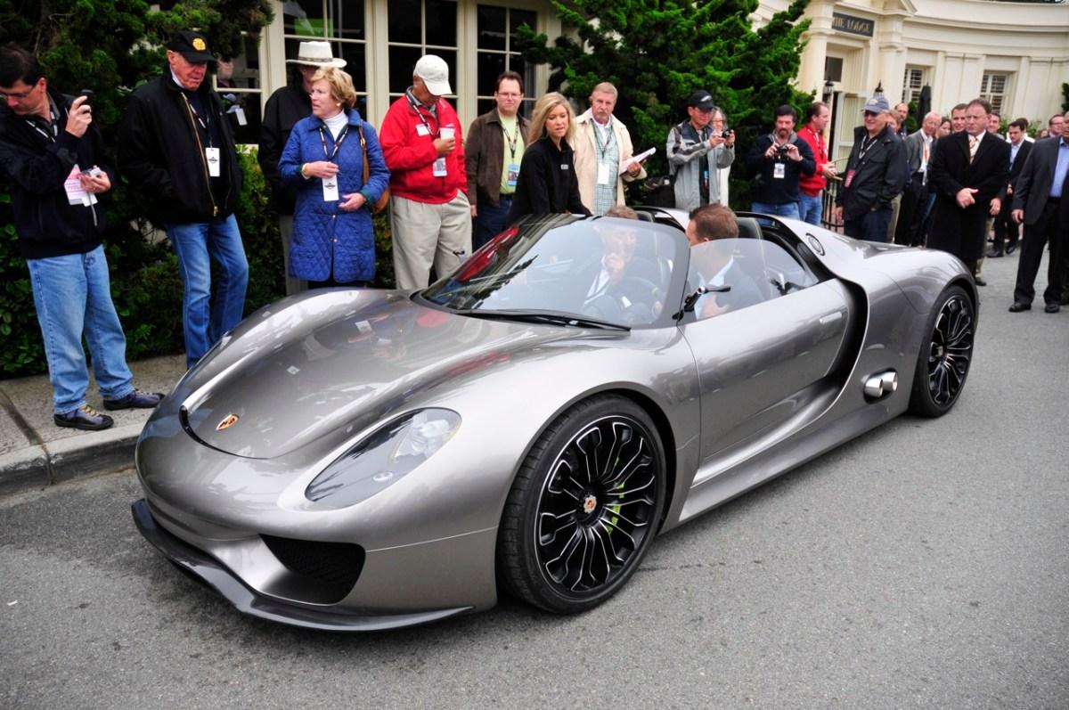 2014 Porsche Spyder