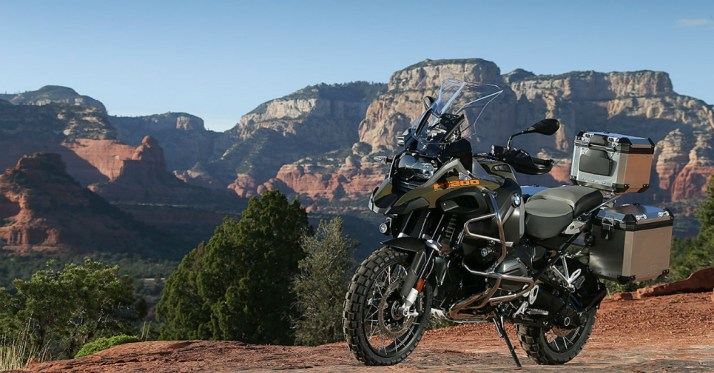 BMW R 1200 Adventure Motorcycle