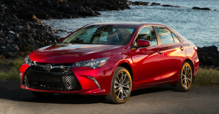 2015 Toyota Camry by the Sea