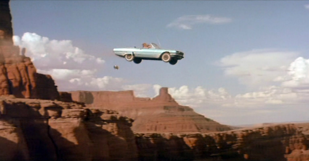 Ford Thunderbird Thelma and Louise