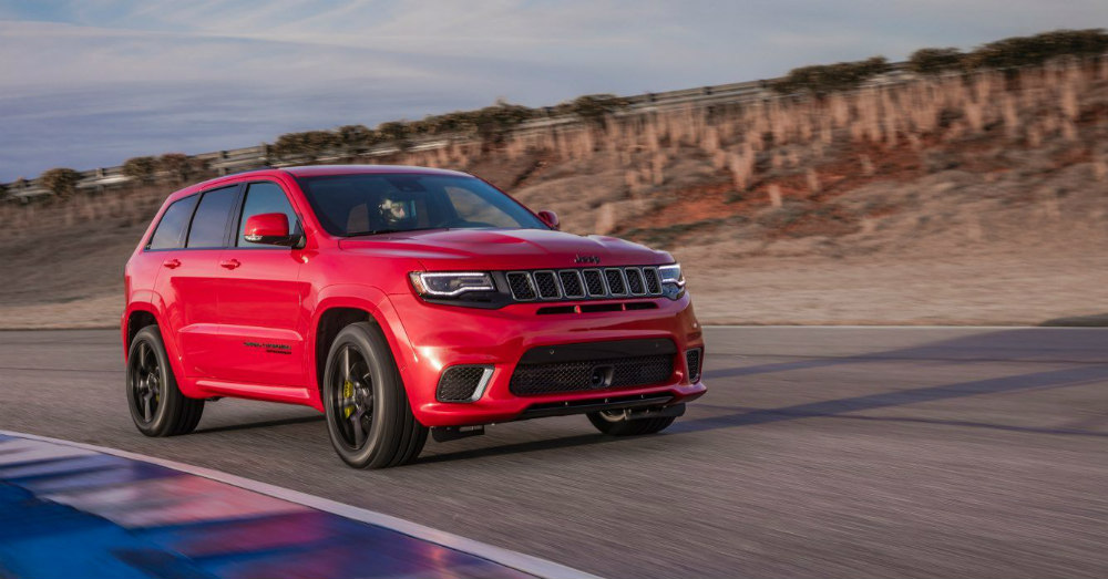 Staggeringly Impressive Qualities in the New Jeep Grand Cherokee Trackhawk