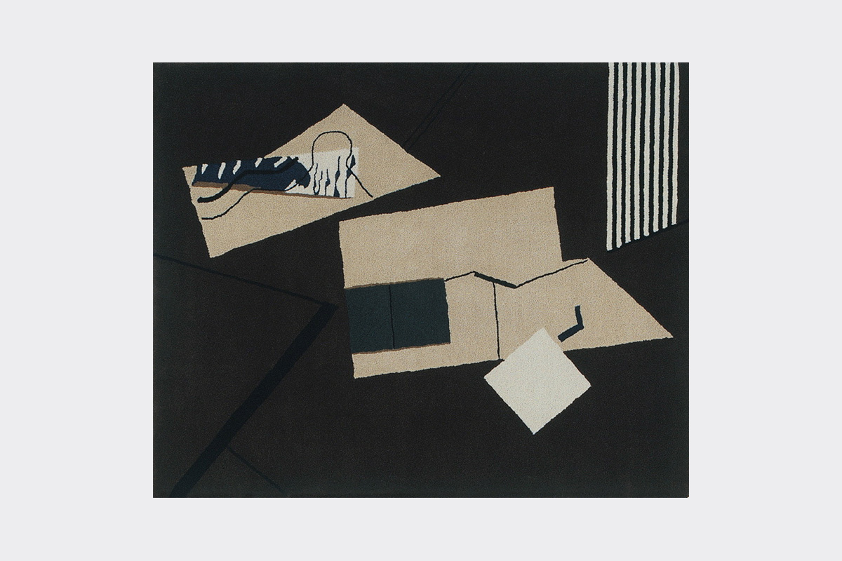 Tapis Eileen Gray Ecart International Tapis Collage