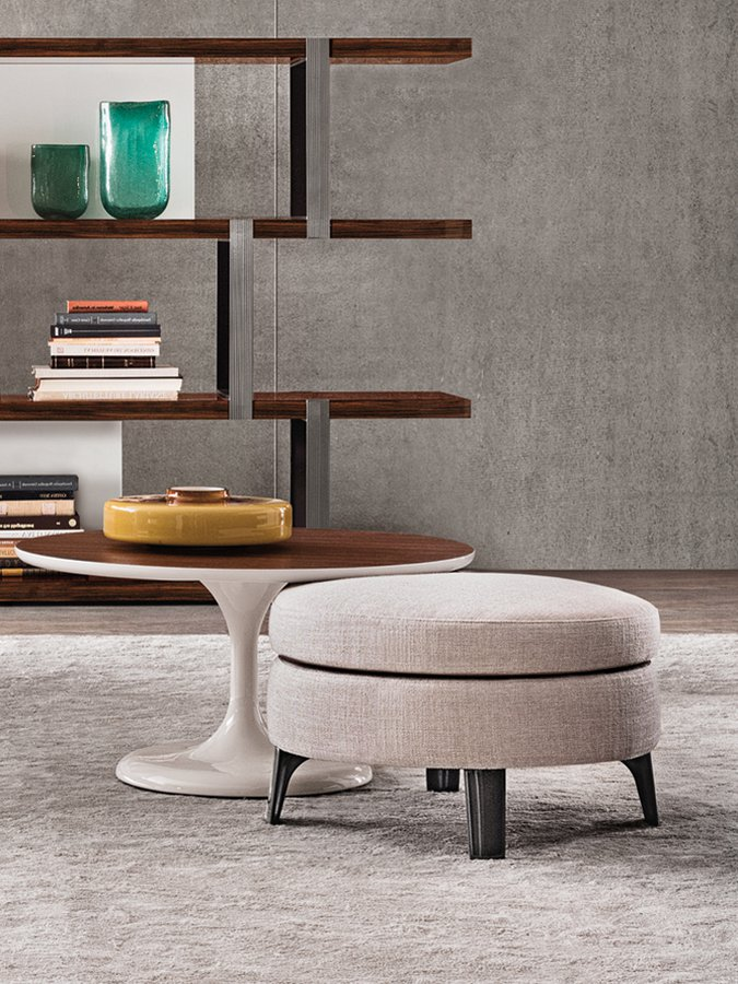 Designer Furniture Wellington Denny Pouf By Minotti — | Ecc