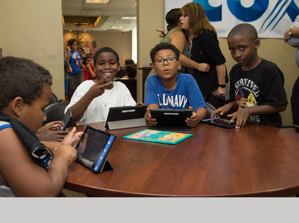 Cox Communications funds Tech Center for Boys  Girls Clubs of East
