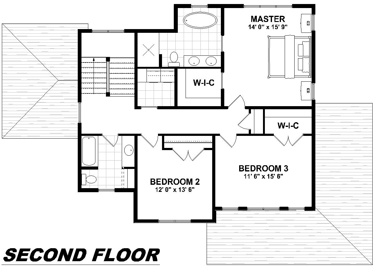 2nd Floor House Plans Ec Designs Inc 2014 The Hillview