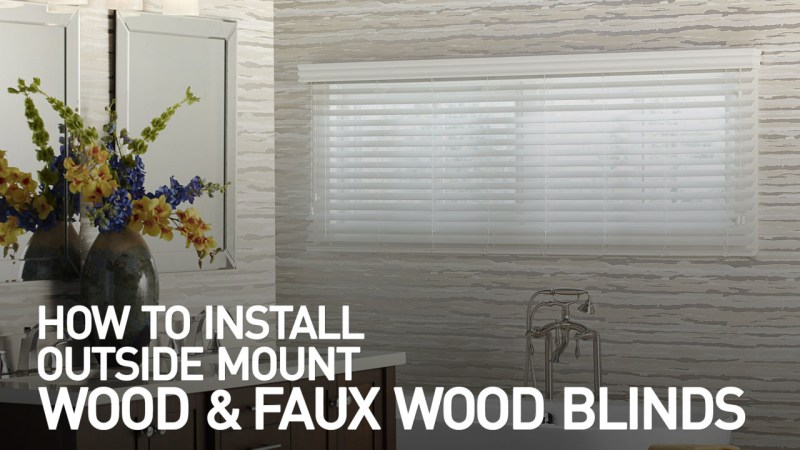Large Of Outside Mount Blinds