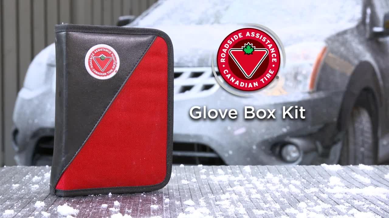 Canadian tire roadside assistance glove box kit